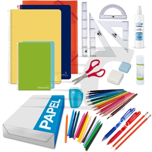 Pack Ahorro Material escolar