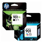 HP 901 Pack Negro XL + HP 901 Color | HPB-901XL-BC