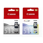 Canon Pack Ahorro PG512 + CL511 | CANB-PG512-CL511