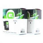 Q-Nomic Pack cartuchos PG512 (2 cartuchos negros)