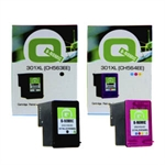 Q-Nomic Pack Ahorro 301XL Negro + Color | QNB-301XL