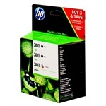 HP Pack Ahorro 2x 301 negro (CH561EE) + 301 color (CH562EE) | HPB-E5Y87EE