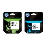 HP 301 Pack ahorro HP 301XL Negro + HP 301 Color | HPB-301BKXL-301C