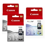 Canon Pack Ahorro 2 x PG512 + CL511 | CANB-2PG512-CL511