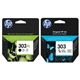 HP 303 Pack ahorro HP 303XL Negro XL + HP 301 Color | HPB-303BKXL-303C