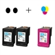HP 301 XL Pack Ahorro (2 Negro + 1 Color)