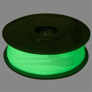 Filamento 3D ABS 1,75 mm Resplandor en la oscuridad
