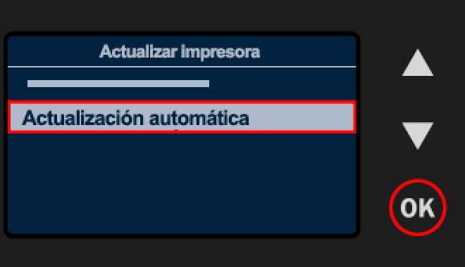 quitar actualizacion impresora hp